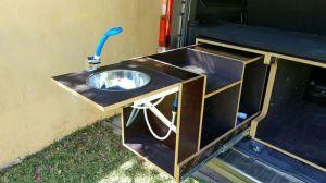 Mueble cocina camper.
